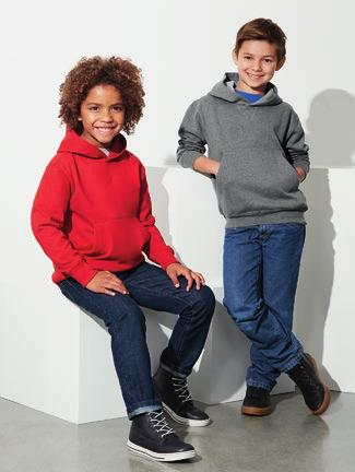 hood with wider shoelace drawstring / No drawstring on Kids keeping kids safe / Knitted ribbed band on hem