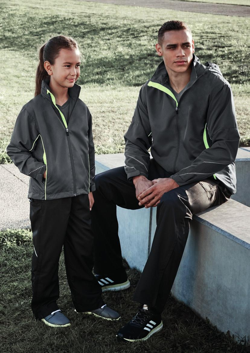 RAZOR BIZ COOL TEAM JACKET & SPORTS PANT J408M ADULTS JACKET J408K KIDS JACKET TP409M ADULTS PANT TP409K KIDS PANT