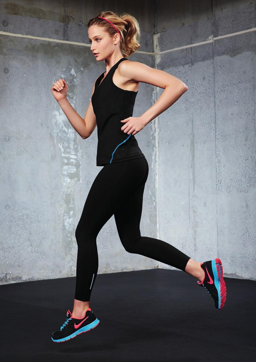 FLEX Stretch performance leggings.