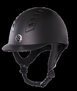 EQ3 Riding Helmet Smooth Shell Equipped with MIPS Brain Protection System Safety standard CE VG1 101.