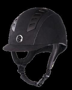 washable Coolmax lining 53-61 Black Blue Brown 4910 Helmets are not avaliable in the UK EQ3 Riding Helmet Microfiber Equipped with MIPS Brain Protection System