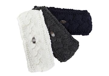 Woollen Headband Felicia The perfect fit headband is stylish and comfortable, and keeps ears warm on cold days Lining is made with Welltex to stimulate blood flow Outer layer is made of 30% wool and