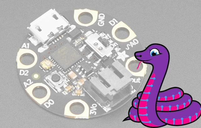 CircuitPython Code GEMMA M0 boards can run CircuitPython a different approach to programming compared to Arduino sketches. In fact, CircuitPython comes factory pre-loaded on GEMMA M0.