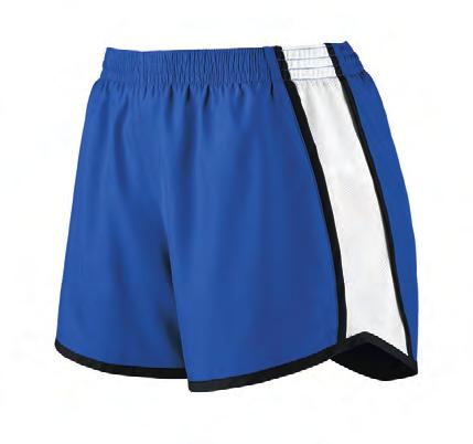 wicking crepe Liner wicks moisture Junior fit Low rise Covered elastic waistband with inside drawcord Inner brief with leg elastic Inside key pocket Contrasting color back yoke and side insert