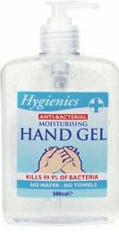 Handwash 500ml, with triclosan to help combat germs