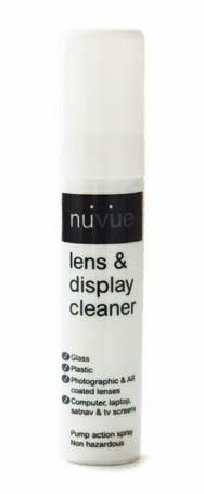 nuvue Giving you a clearer view For use on a variety of electrical displays,