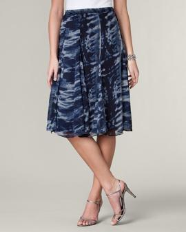Seascape Flare Skirt A tulip skirt is one that flares at the hemline.