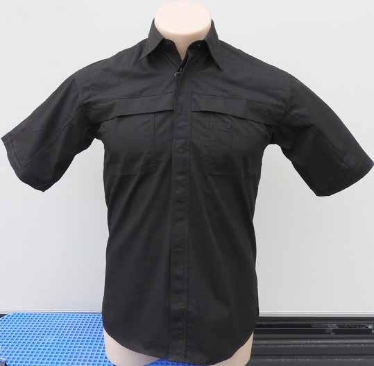 A U S T R A L I A Technicians Workshirt 55% Cotton, 45% Polyester Air Vents Under Arm and Back Panel Curved Tail Can Be Tucked in or Worn