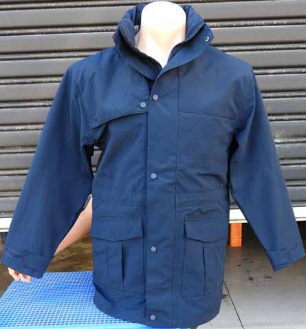 Ensures Waterproof Finish Sealed Placket with