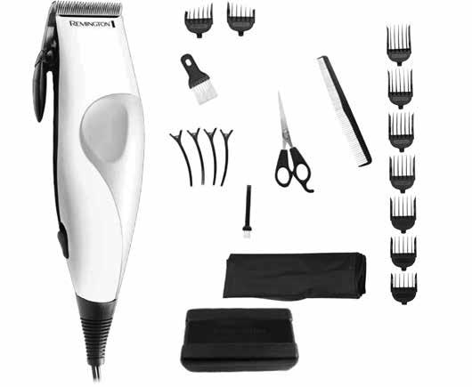 HC2000 SERIES REMINGTON 21 PIECE HAIR CUT KIT USE AND CARE MANUAL Thank you for purchasing your new Remington Haircut Kit.