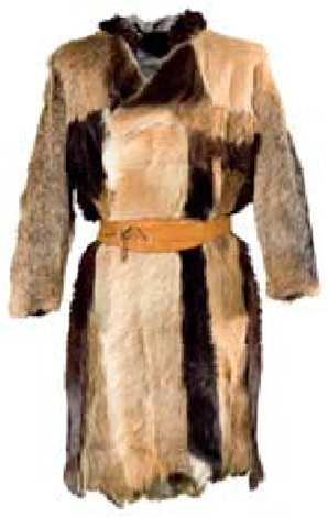 The clothing Stone Age fashion