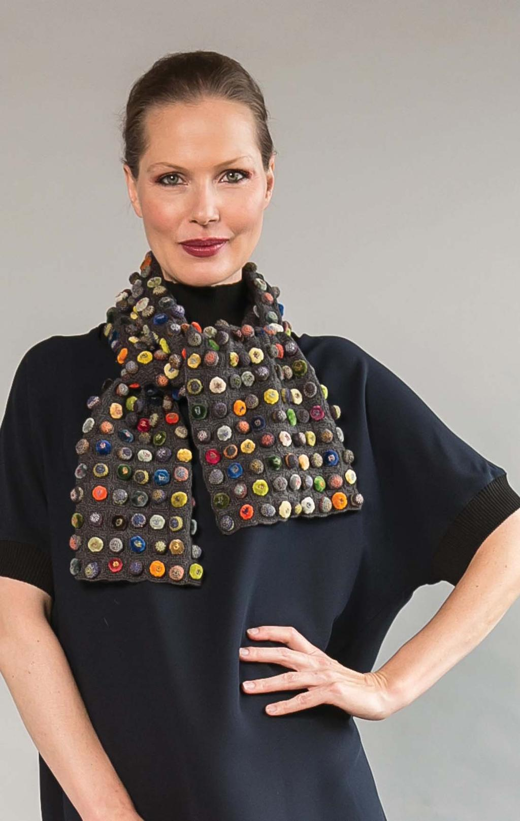 This is wearable art! Each piece is one of a kind!