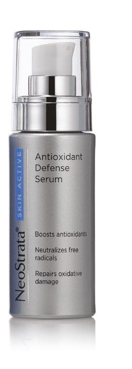 Antioxidant Defense Serum Item# F30030 30 ml Boost your daily regimen with this powerful serum formulated to combat oxidation-induced photoaging. This concentrated SynerG 8.