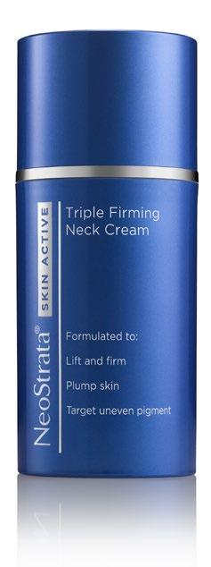 neck and décolletage this cream formulation with fragrant extract of light green/ floral features NeoCitriate for