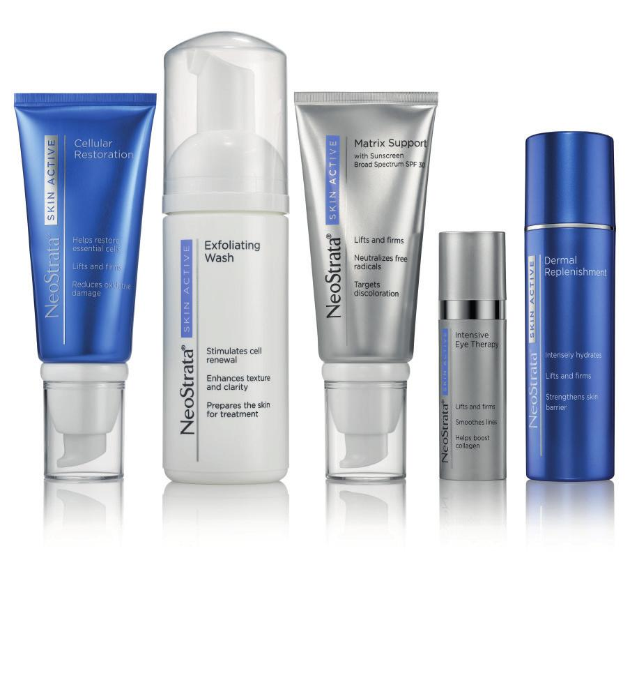 SKIN ACTIVE SKIN ACTIVE NeoStrata Skin Active is an advanced, comprehensive anti-ageing regimen that targets all visible signs of aging with