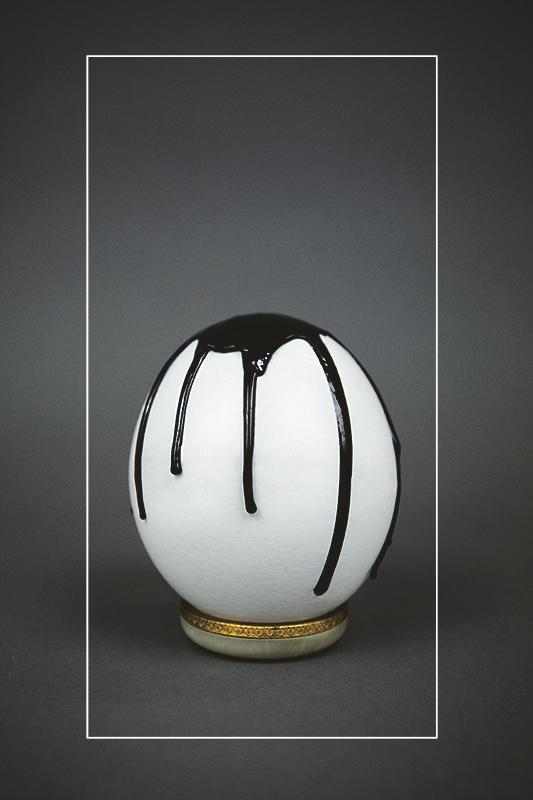 (Image 2) An egg made of resin