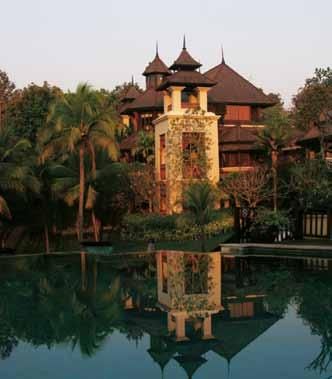 Country Club and the Royal Chiang Mai Golf Resort as well as two tennis courts.