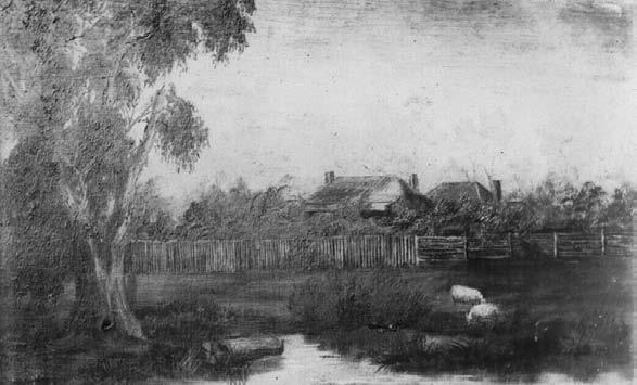 Figure 3: Undated sketch, believed to be of Bean s Parsonage (courtesy Gippsland Regional Maritime Museum).
