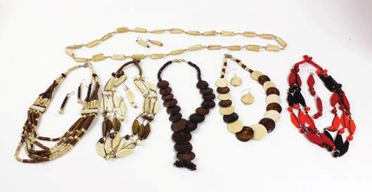 $13.95 Set Of 6 Afrocentric Necklace