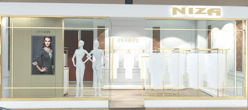 Store presentation A tailor made interior design, gives each