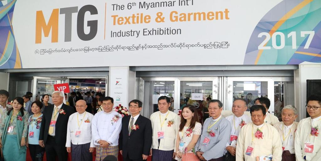 As a major driver behind the growth of Myanmar s garment industry, the MTG has been well recognized by many renowned international brands as a very useful conduit for tapping into the booming Myanmar