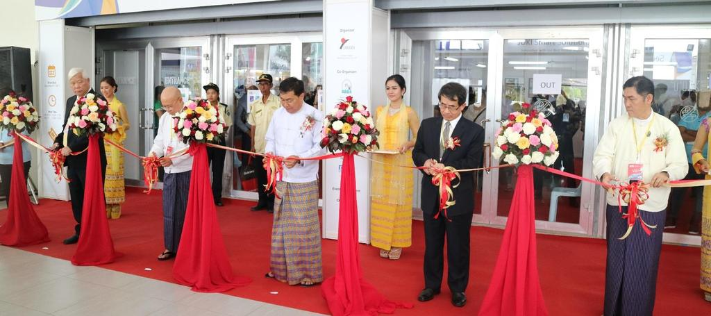 OPENING CEREMONY Guests of Honor Organization Name Title Ministry of Yangon Region Government H.