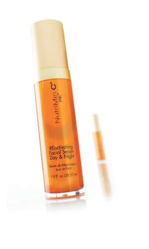 skin care system REactivating Facial Serum, Day & Night Step 3 Dynamic, pre-moisturising facial gel.