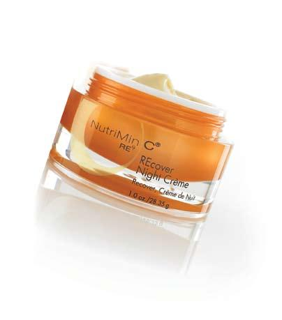 skin care system REcover, Night Crème Step 5 Night Formulated to deliver targeted protection against