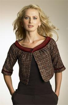 Bolero Jacket A short jacket, reaching