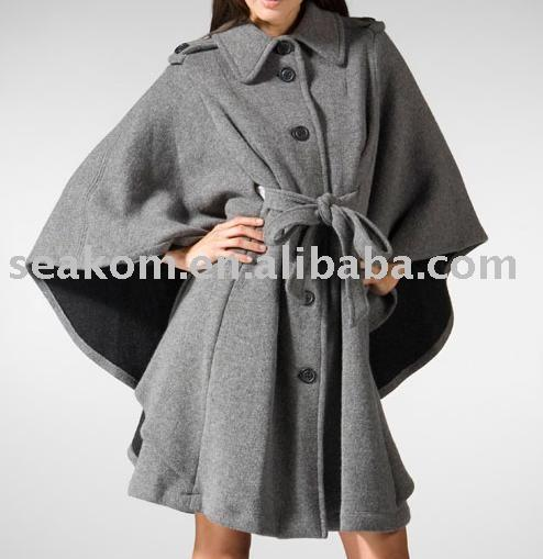Cape Sleeveless outerwear of various length and
