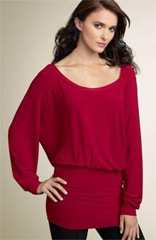 Dolman Sleeve A sleeve that is part of the bodice of a garment, usually extending from the
