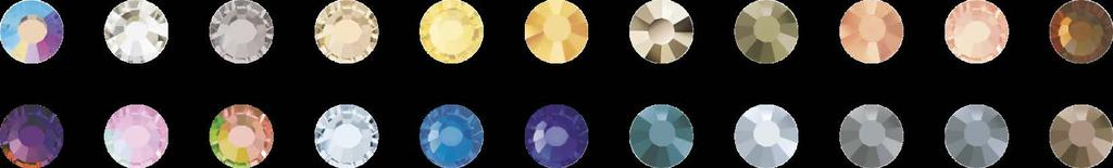 Metal Bandings with Nacre Cabochons AVAILABLE COLOURS All Coatings