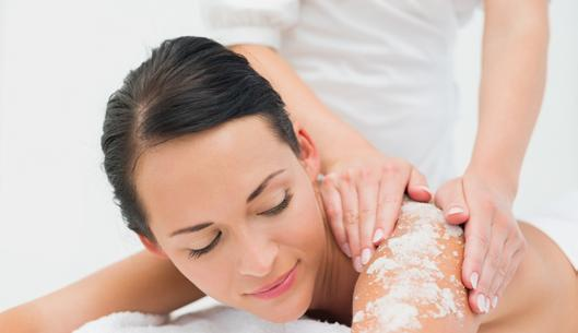 Body Scrubs and Wraps COSMED Signature Chocolate Body Scrub (90 min)............$100.