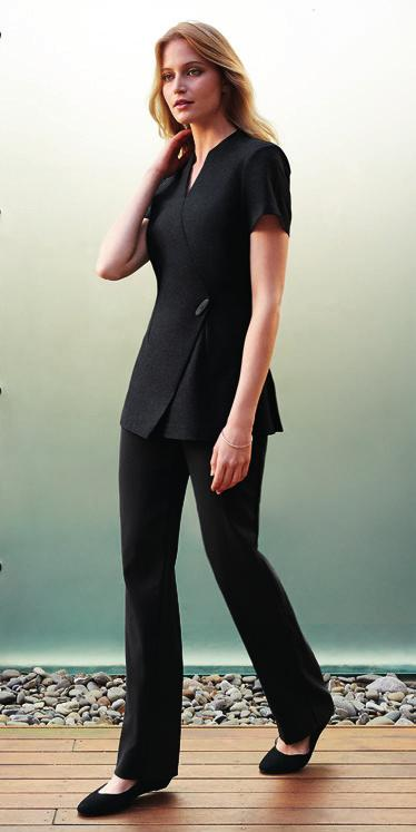 mock-wrap front Invisible centre back zip, deep side splits H630L LADIES SEMI-FITTED 6 8 10 12 GARMENT ½