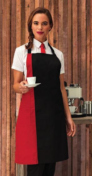 Weight: 240 gsm *Black/grey W364 Westford Mill Fairtrade Adult Craft Apron 100% cotton drill. Fairtrade certified.