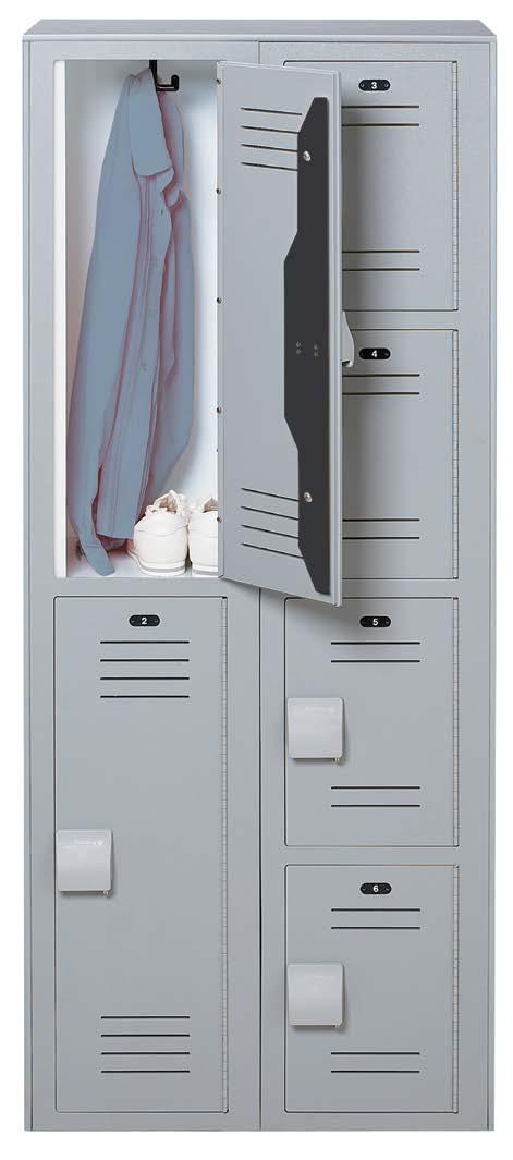 XL-Lockers are extra deep for up to 30% more space than standard lockers. Gear Locker Secure Your Gear!
