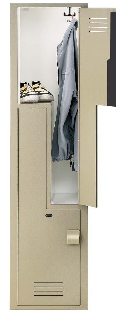 "slamming or pinched fingers y Perfect for fire and police departments, locker rooms, recreation and fitness facilities Height: 72"" (1829mm) Width Options:"