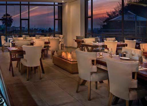SAVOURING SUMPTUOUS SEAFOOD Johannesburg s renowned seafood restaurant, The Codfather, has moved into the heart of Sandton The Codfather has become a dining