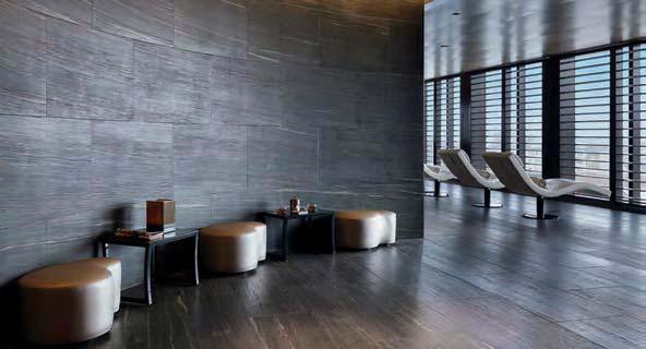 For a luxe experience, head to level six and the Armani Milano Suite, overlooking the