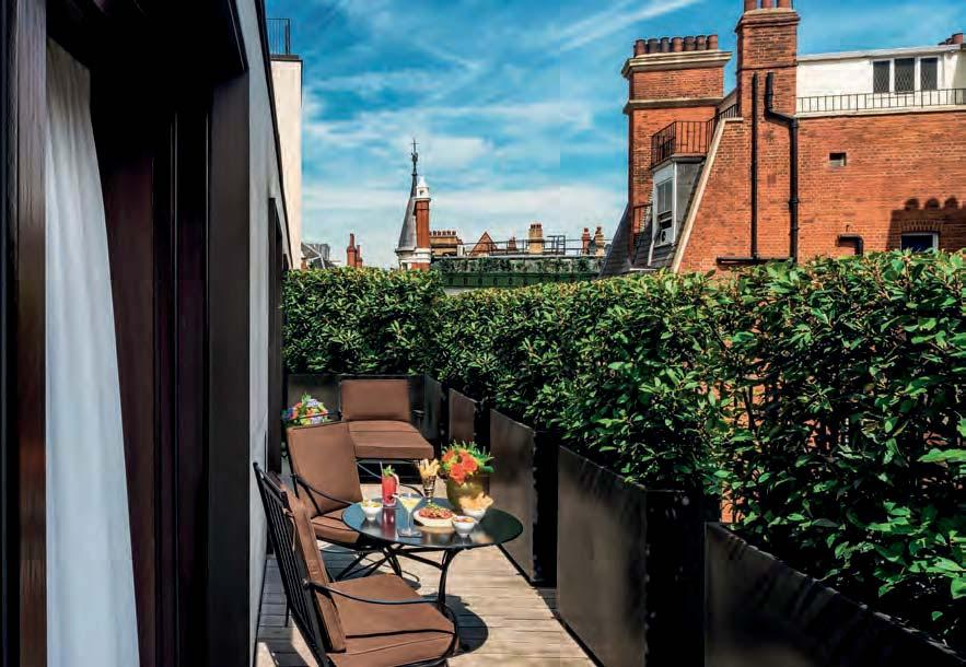 And deep in the heart of Victoriana space, stands the 85-room hotel with