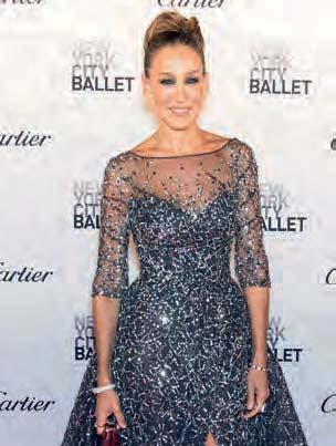 THE ART OF FASHION When art and fashion collide, magic unfolds COUTURE DANCE: PLIÉ IN BESPOKE DESIGNS With actress and style icon Sarah Jessica Parker as New York City Ballet (NYCB) board vice chair,