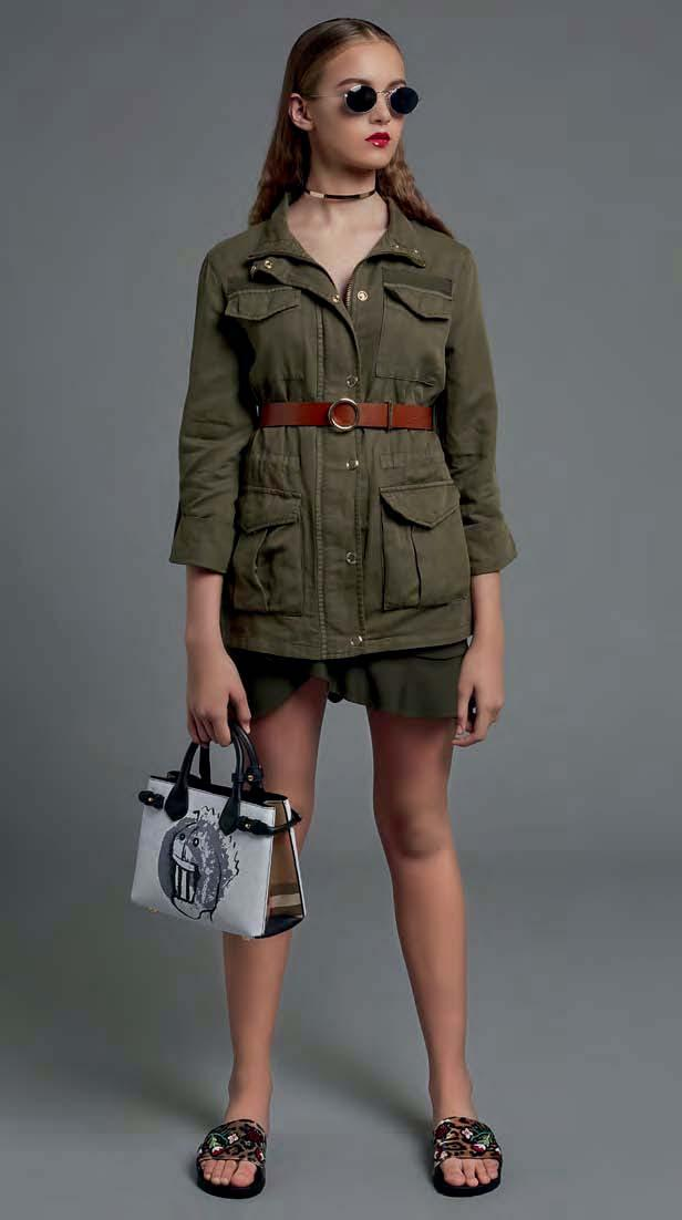 ON THE MARCH Don t give khaki, olive and camo marching orders.