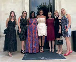 brand that would soon be recognised GLOBAL RECIPIENTS AT HOTEL DU MARC SARAH WOOD, ELSKE DOETS, ANDREA SCOTT, MILA LITVINJENKO AND JANET LEPAGE The more information we share amongst ourselves as