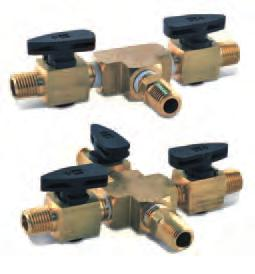 protecting the needle Multiple-Valve Assemblies Two and 3-way valve assemblies are ideal for splitting air from a single air source into multiple gun
