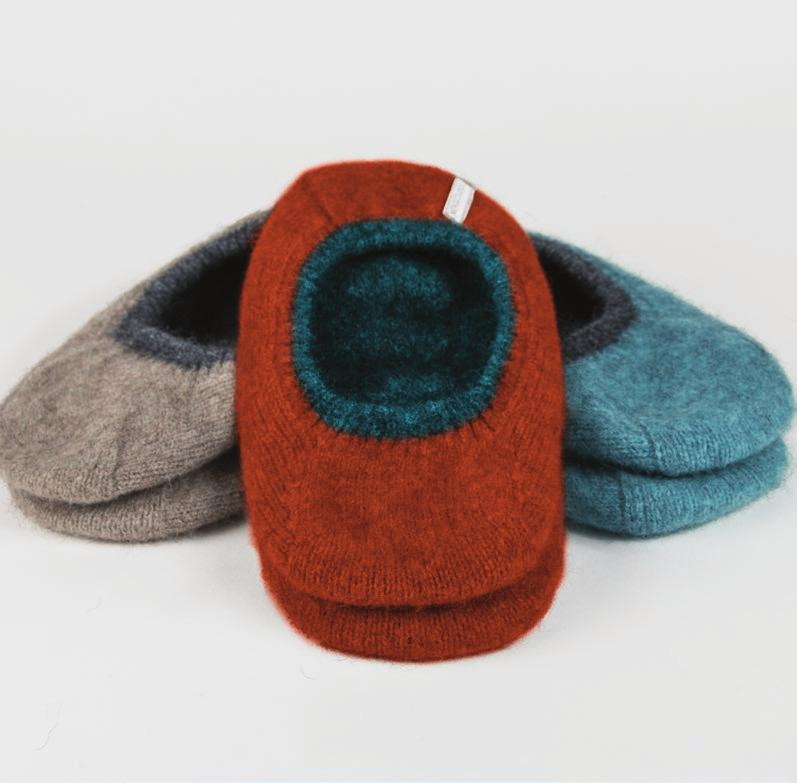 0218 Inflight Slippers S M L Mist/Slate