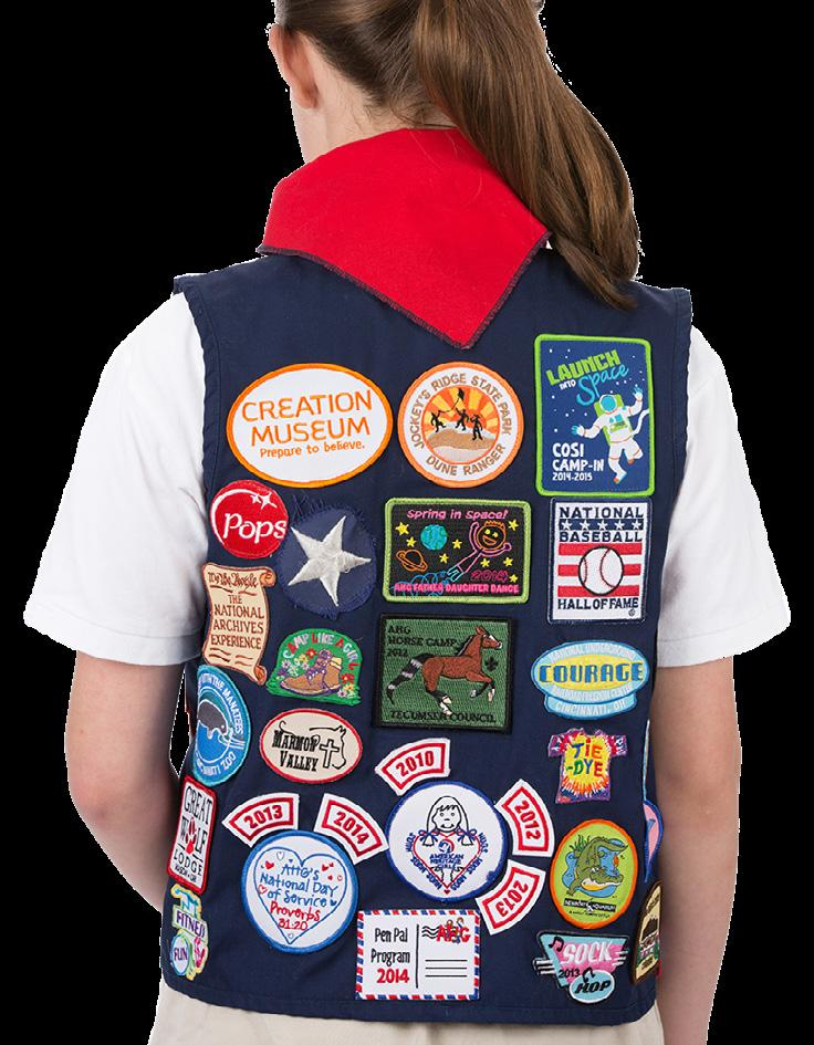 PATCHES 1. What is a patch? Patches are items you earn for participating in an event, activity, or Patch Program. 2.