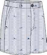 Yacht Haven M039840 32-42 (even sizes) 60% Cotton 40% Polyester, Flat Front, Fixed Waist, Deep Front Pockets,