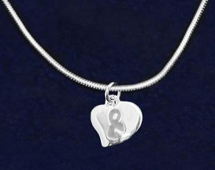 This sterling silver plated necklace is a 17 inch snake chain with a lobster clasp that has
