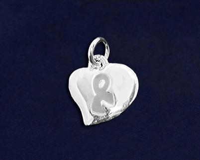 (CHARM-06-7) Qty: 50/pkg. Round Pandora Insprired Charms.