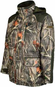 Ghostcamo Wet base-ball cap Skintane Optimum fabric is a Percussion exclusive. With its laminated membrane, it provides the Brocard range with exceptional performance.